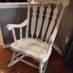 Antiqued Rocking Chair - SOLD