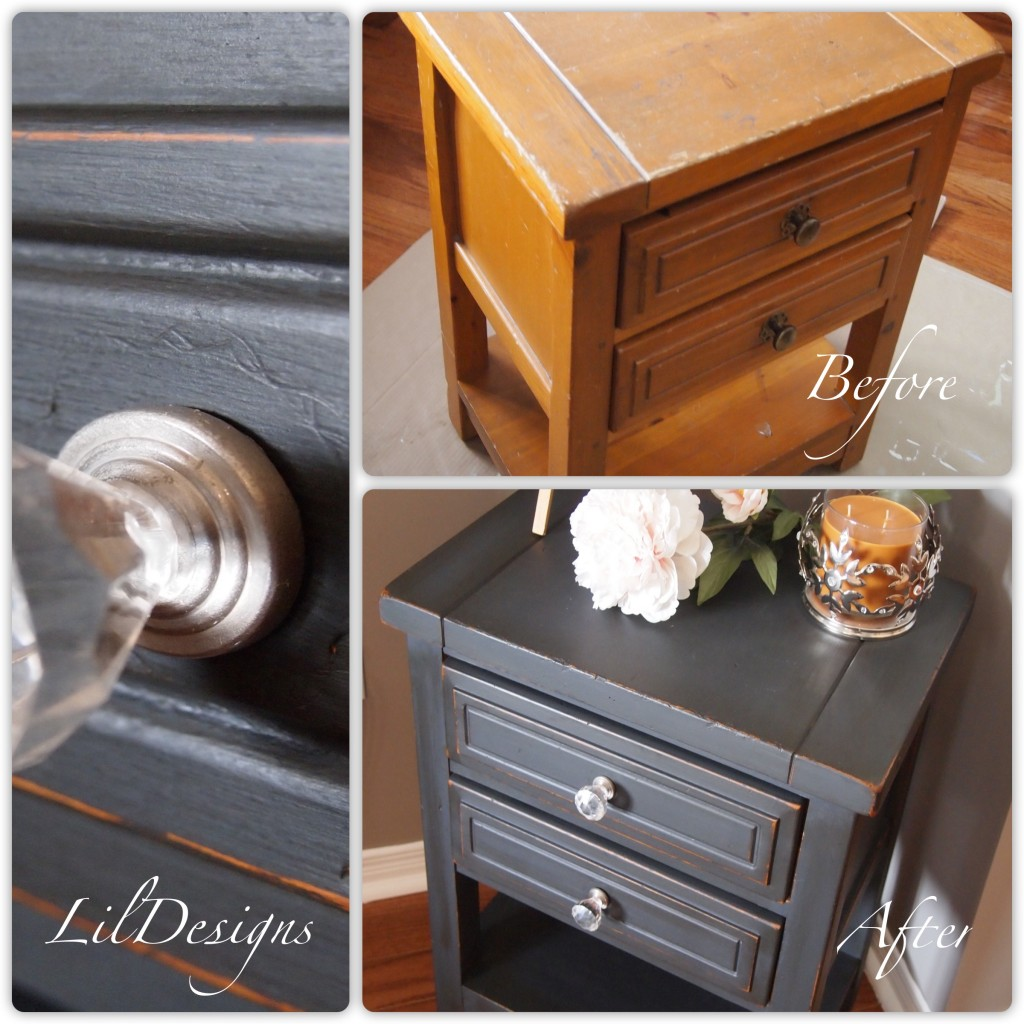 Side Table - Before & After