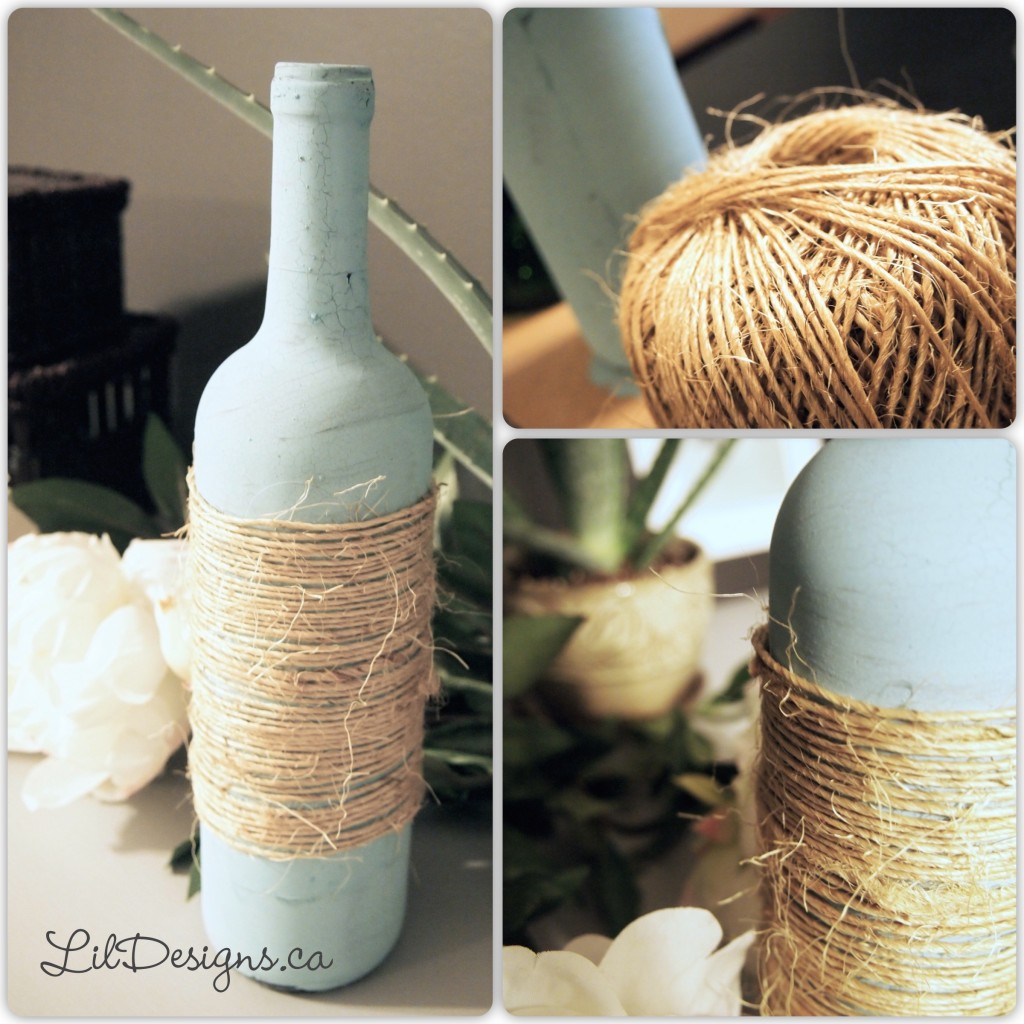 Eulalie's Sky Wine Bottle