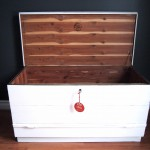 Authentic Red Seal Cedar Chest - SOLD!