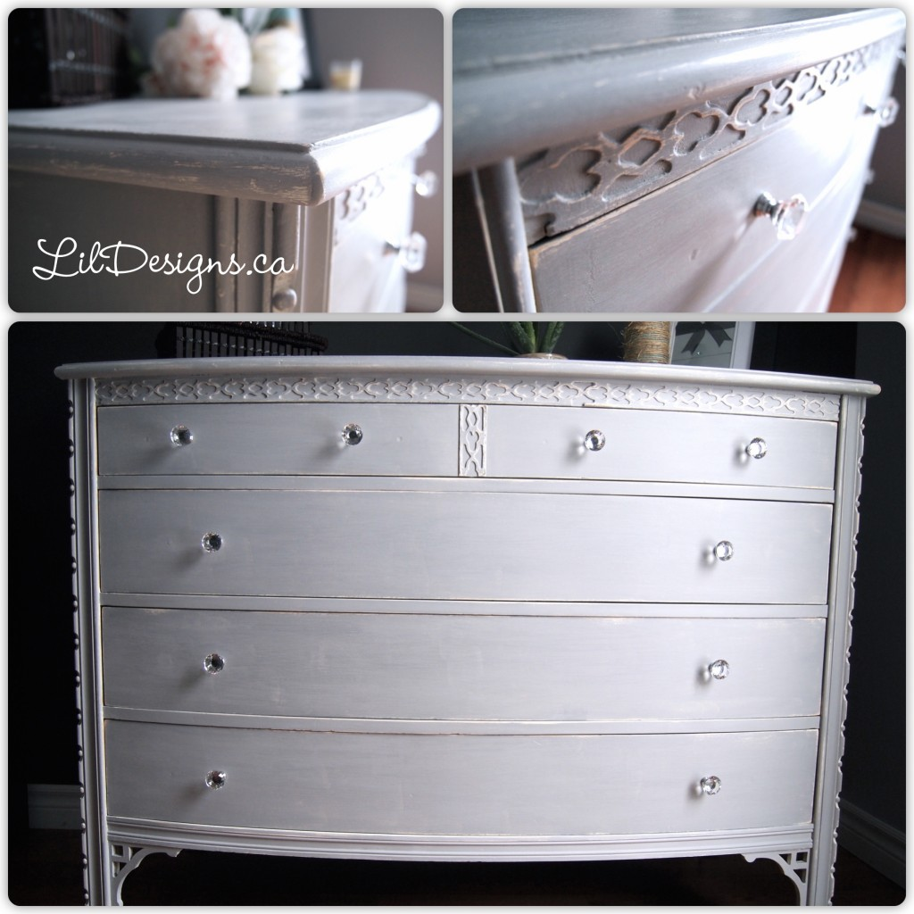 Paris Grey Dresser - After