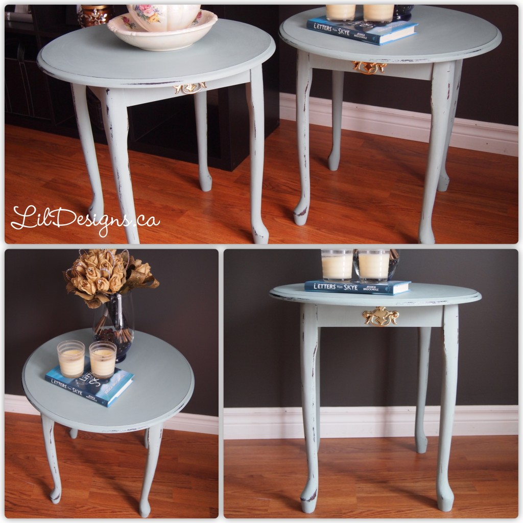Duck Egg Side Tables - After2