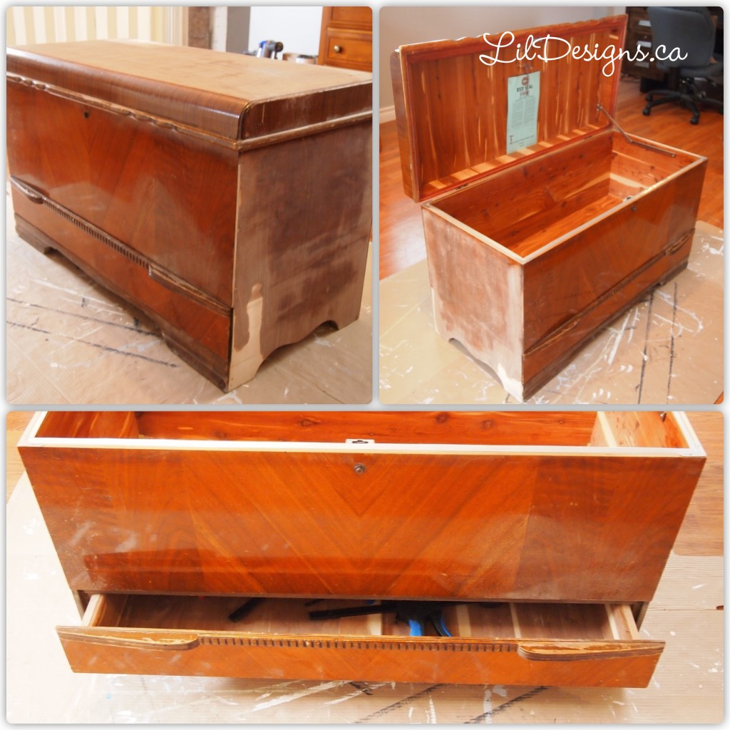 Honderich Chest - Before