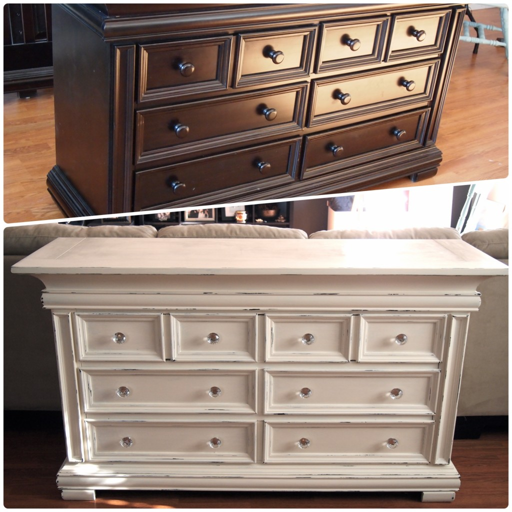Nursery Dresser - Before and After