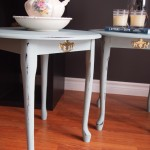 Country-Chic Occasional Tables - SOLD