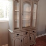 Country Elegant China Hutch - SOLD